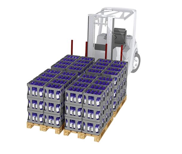 Multi-Pallet Beverage Handler