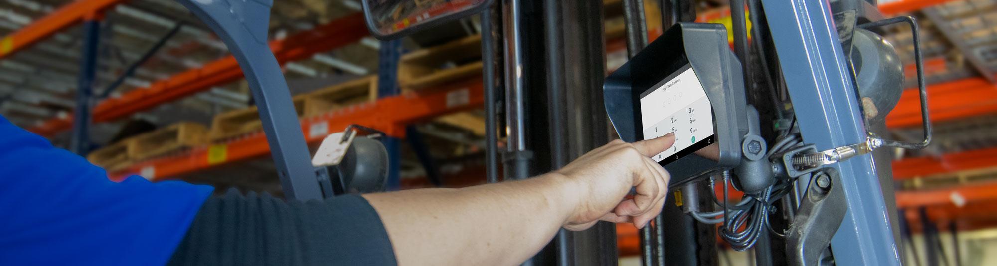 Forklift information system